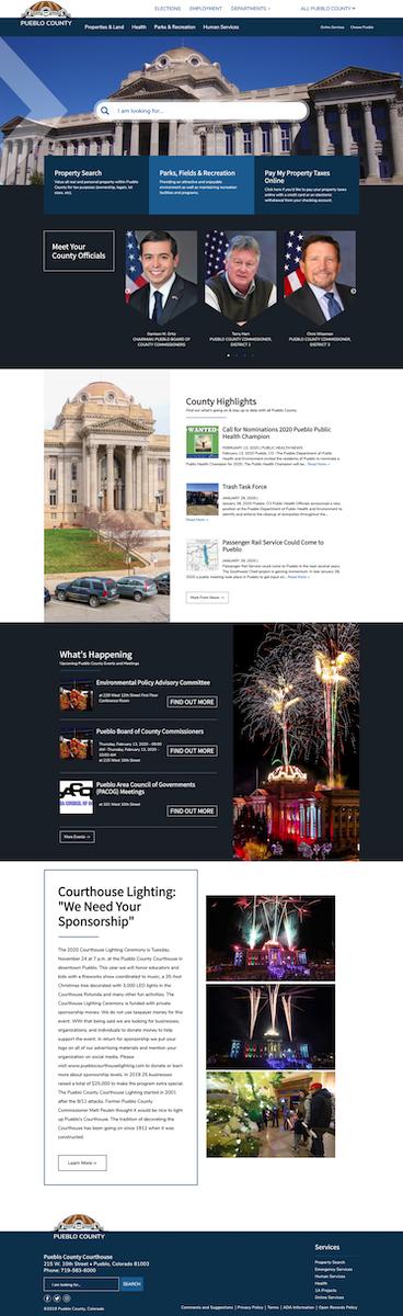 Pueblo County Government Website